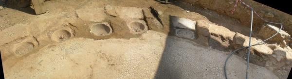 πανοραμική των Αρχαίων λουτρών